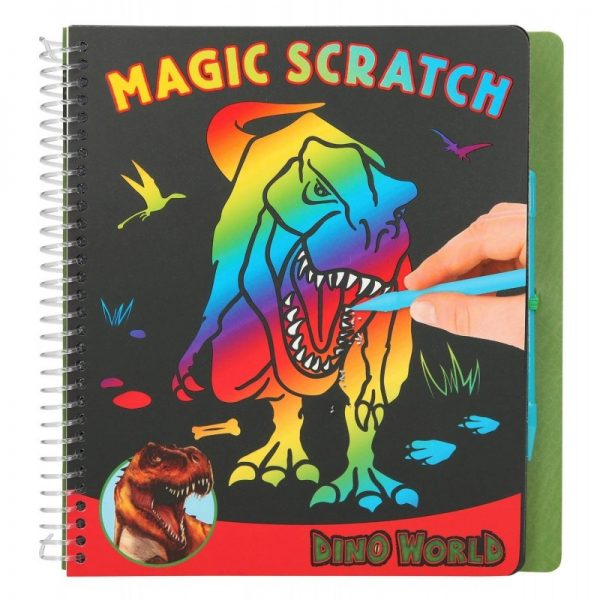 Magic Scratch Dino World