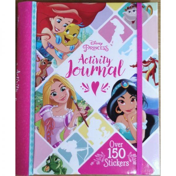Disney Princess Activity Journal