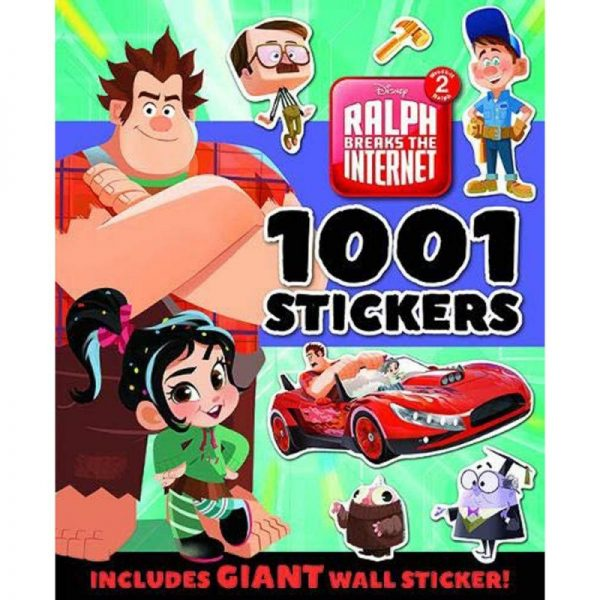 Ralph Breaks the Internet:1001 Stickers